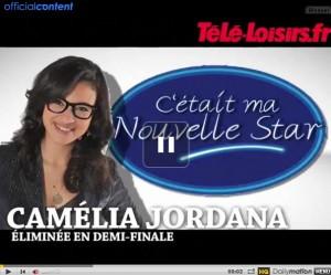 Camélia Jordana s'exprime après son élimination de la Nouvelle Star