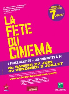 Fête du CINEMA à TOULON