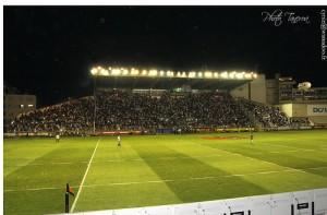 Travaux d'agrandissement du stade Mayol