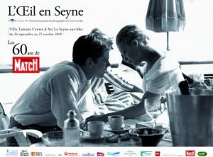 Exposition pour les 60 ans de Paris Match