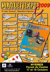 MAQUETTEXPO 2009 salon de la maquette à Hyères