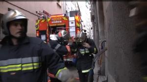 Incendie rue Felix Piat à Toulon