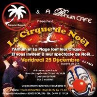 Soirée Cirque de Noël à la Plage