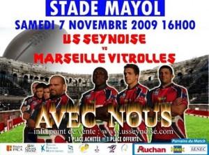 Resultat du match la Seyne - Marseille Vitrolles