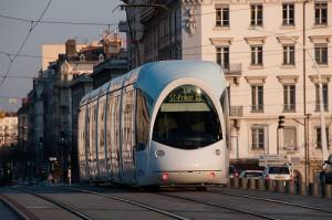 Le tramway à Lyon