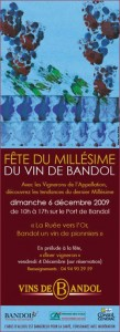 Fête du Millésime du vin de Bandol 2009