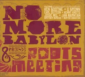 Pochette de l'album de No More Babylone