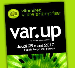 Var Up : le salon de l'entreprise à Toulon