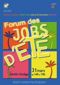 Forum des jobs d'été 2010 à Toulon