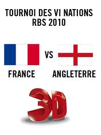 France Angleterre en 3D au Pathé Grand Ciel