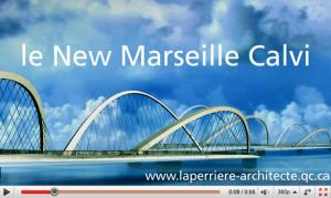 285 km de pont pour relier Calvi à Marseille