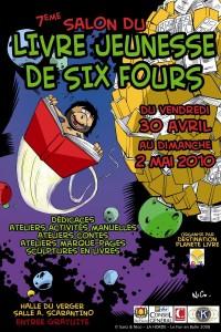 Salon du Livre de Jeunesse de Six FOurs 2010