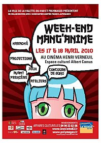 Week end Mang'anime à la Valette