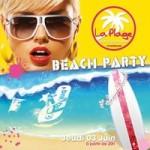 Soirée Beach Party à la PLage