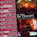 Brigitte Fontaine en concert à Puget sur Argens