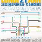 Programme fête de la musique 2010 à Toulon