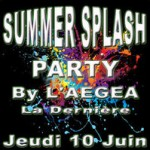 Summer Splash Party par l'AEGEA