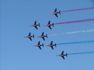 La patrouille de France défilera au dessu de Toulon le 14 aout