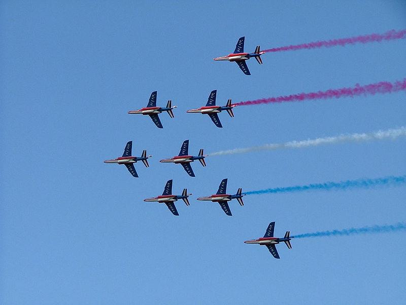 La patrouille de France défilera au dessus de Toulon le 14 aout