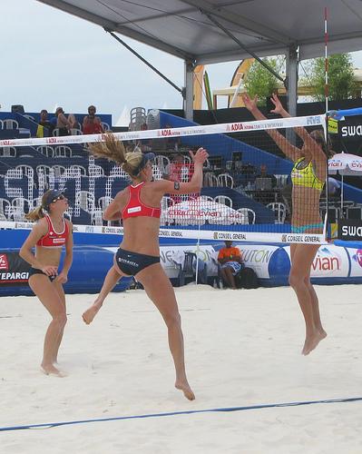 Tournoi de beach Volley aux Salins d'Hyères