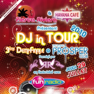 DJ IN TOUR au Prosper
