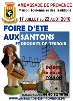 Foire d'été aux Santons à Toulon