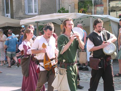 Fête médiévale à la Garde en aout 2010