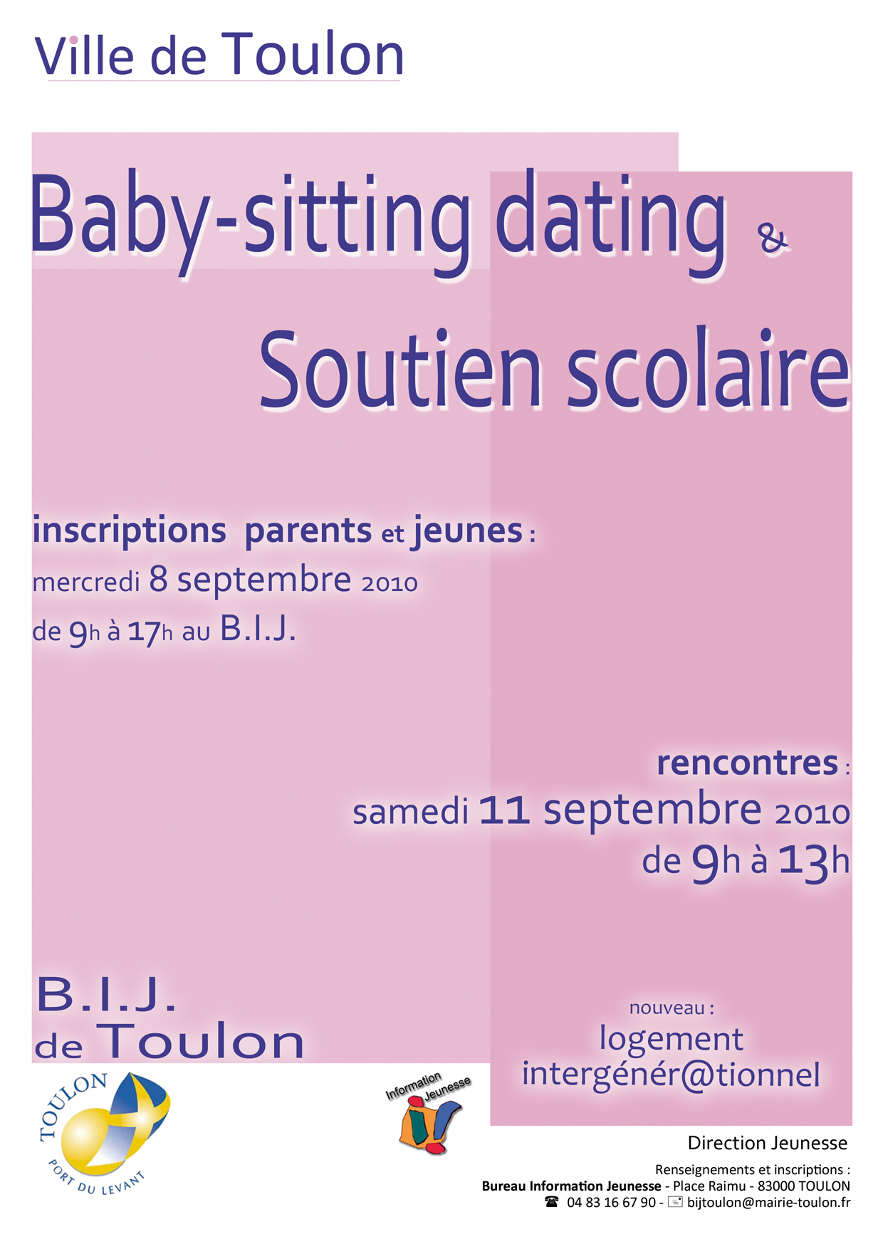 Forum Du Baby Sitting Dating Et Soutien Scolaire Toulon
