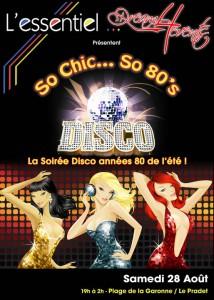 Soirée SO CHic 80's au Pradet