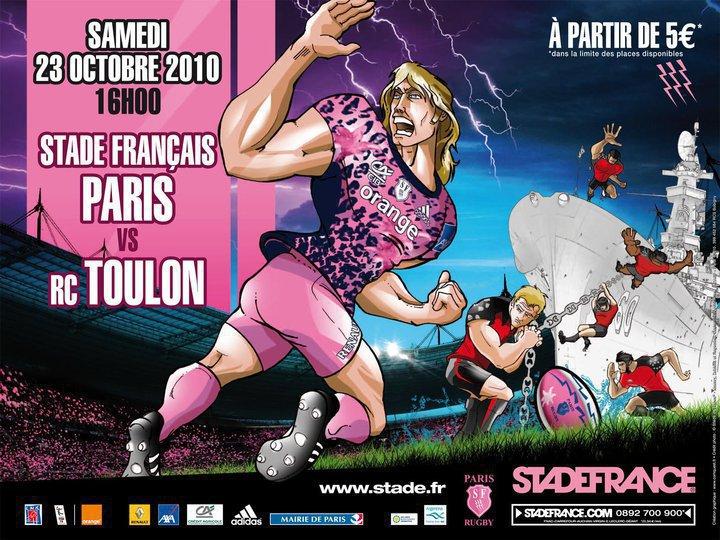 Le RCT jouera au Stade de France en 2012