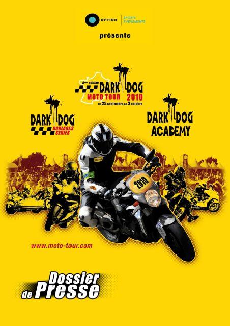 Salon régional de la Moto à Toulon à l'arrivée du Dark Dog Moto Tour