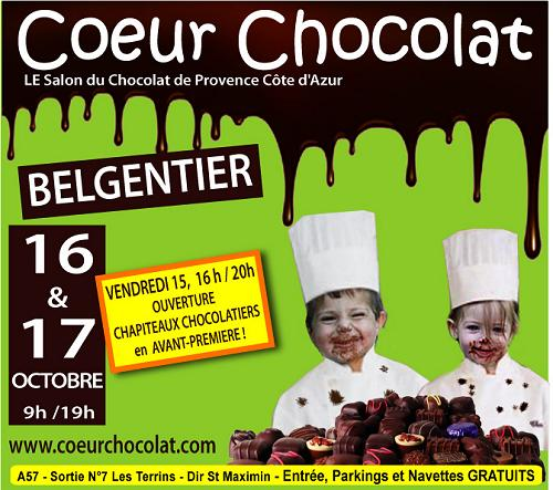 Salon du CHocolat 2010 à Belgentier