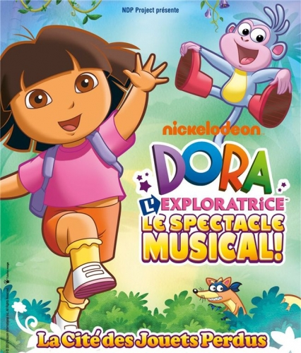 Spectacle de Dora l'exploratrice au Zenith de Toulon