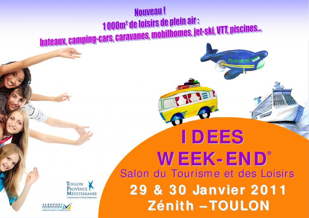 Affiche du Salon du Tourisme et des idées week end de Toulon