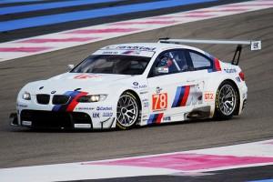 BMW M3 sur le circuit Paul Ricard au Castellet