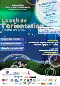 La nuit de l'orientation à Saint Raphael et Toulon