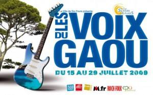 Affiche 2009 du Festival des Voix du Gaou