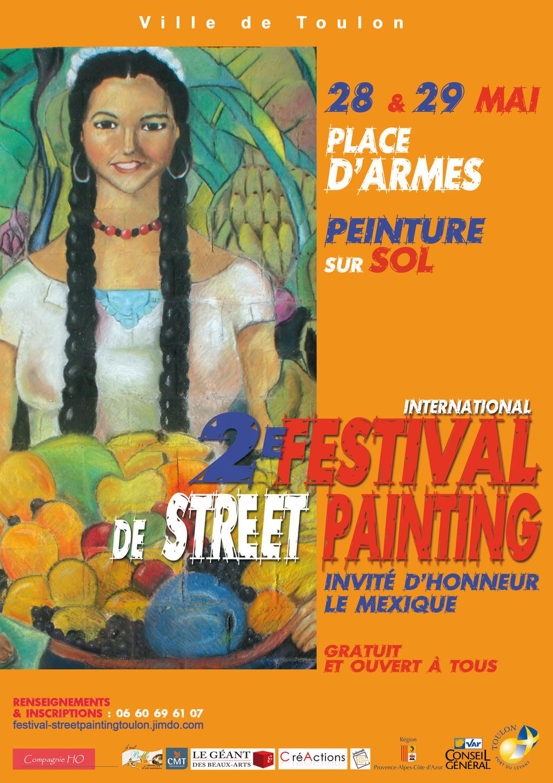 Festival du Street Painting à Toulon