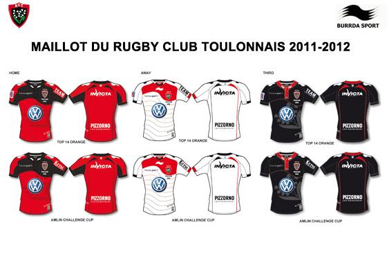 Maillot 2011 2012 du RCT
