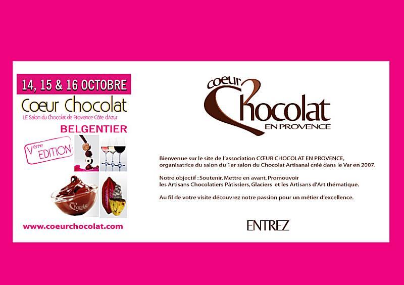 Salon du chocolat de Belgentier 2011