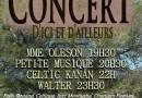 Concert d'Ici et d'Ailleurs à La Crau