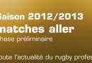 Calendrier 2012 2013 des matchs du RCT