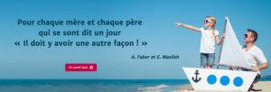 Atelier de parentalité positive à Toulon et dans le Var